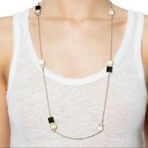 Kate Spade Ipanema Tile scatter necklace